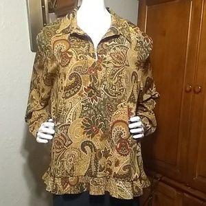 Alfred Dunner top/ shirt